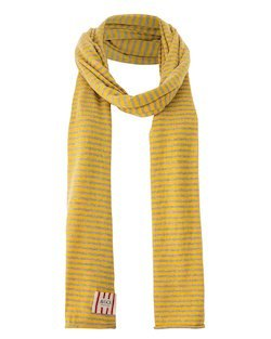 Summer Park Scarf in Yellow & Beige