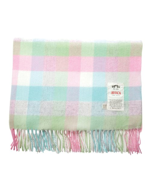 Baby Bunting Cashmere Blend Blanket in Pink