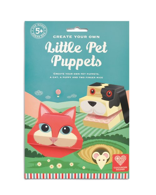Create Your Own Little Pets Puppets Puppets