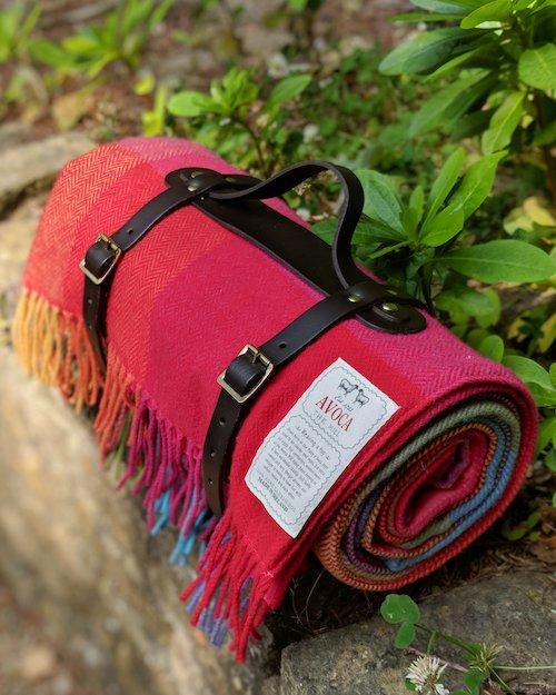 100% Lambswool Picnic Blanket