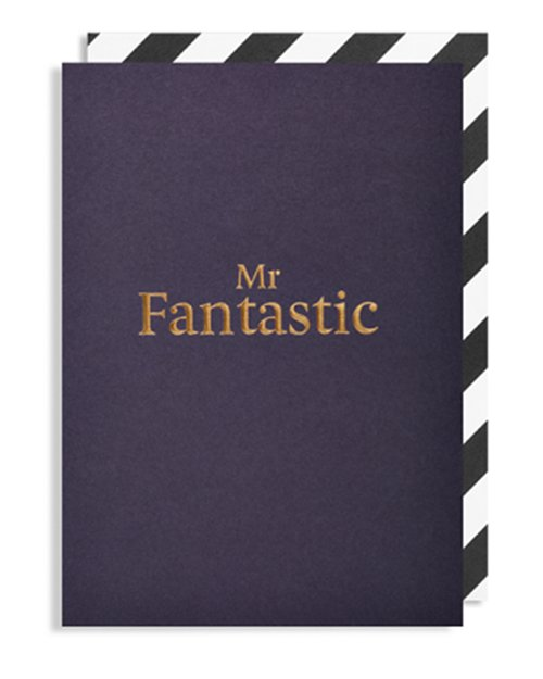 Mr Fantastic Card