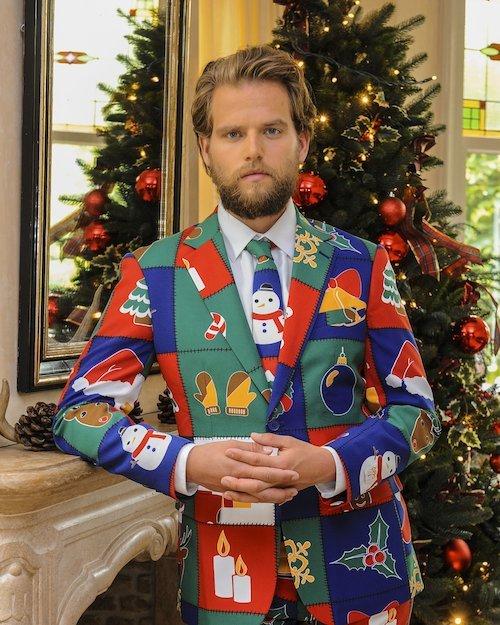 Opposuits Quilty Pleasure Christmas Suit