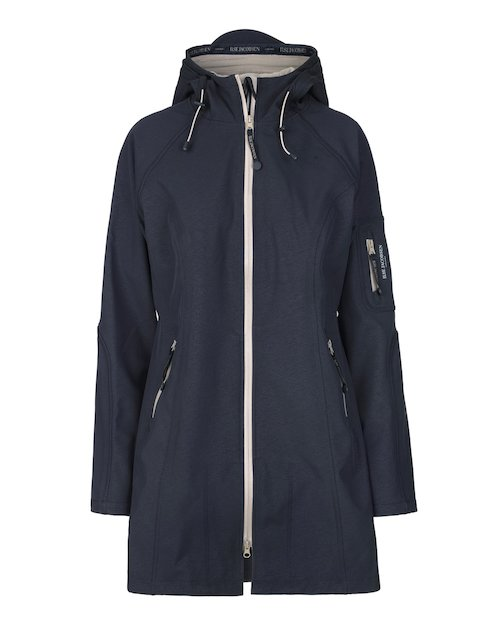 Ilse Jacobsen Raincoat in Indigo Atmosphere