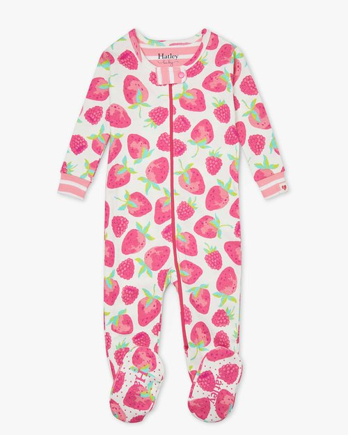 Delicious Berries Organic Cotton Babygro