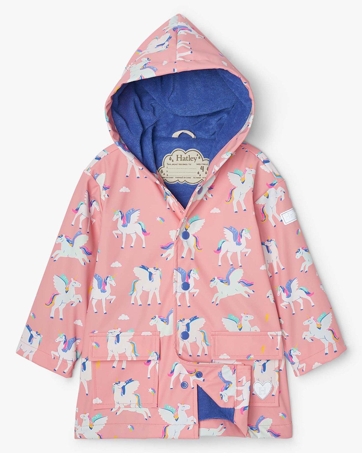 Magical Pegasus Colour Changing Raincoat
