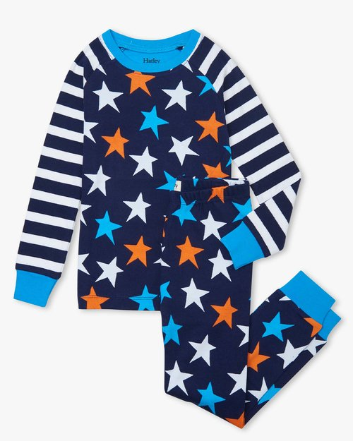 Stars And Stripes Organic Cotton Pajama Set