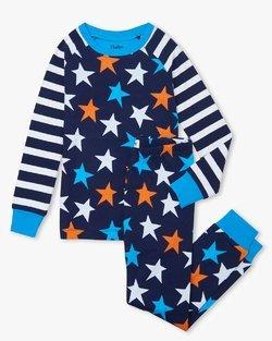 Stars And Stripes Organic Cotton Pajama Set