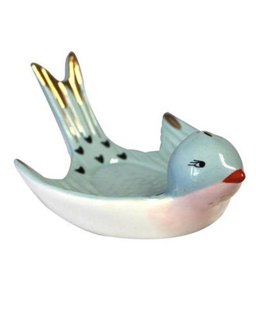 Secret Garden Bird Trinket Dish