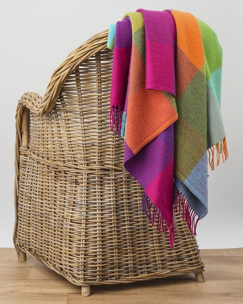 Silken Cashmere Throw