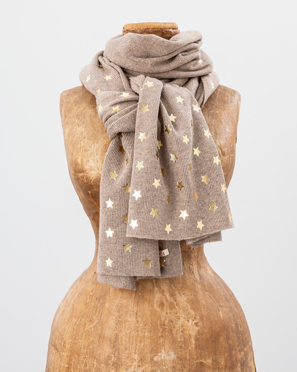 Foil Star Scarf