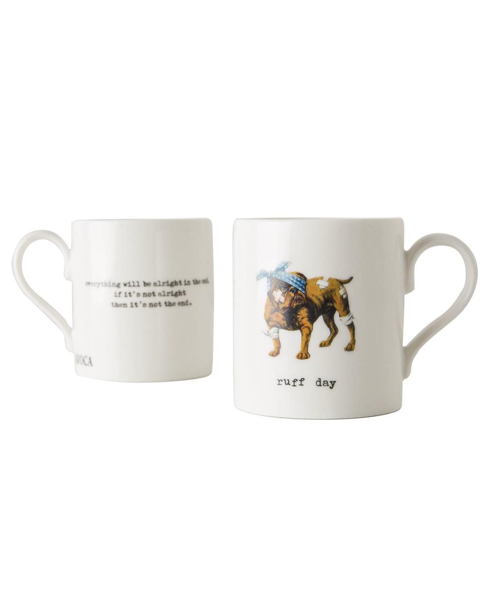 Ruff Day Mug