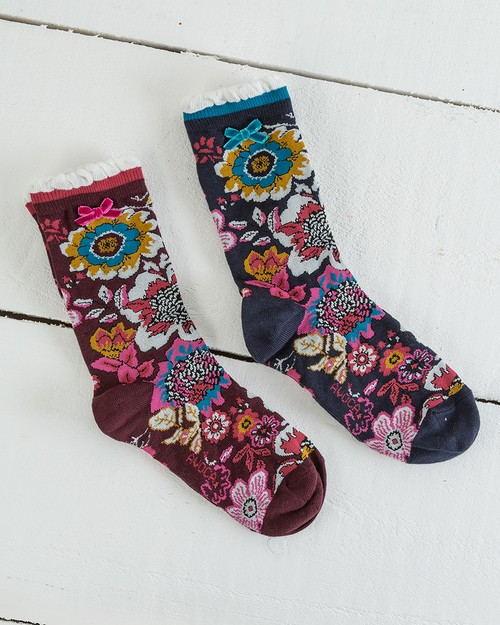 Tapestry Ankle Socks