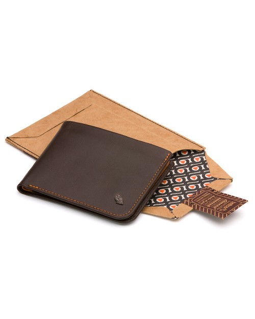 Bellroy Hide and Seek Wallet in Brown