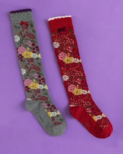 Winter Growing Up Knee Socks
