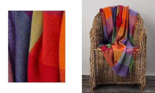 Carnival Cashmere Throw