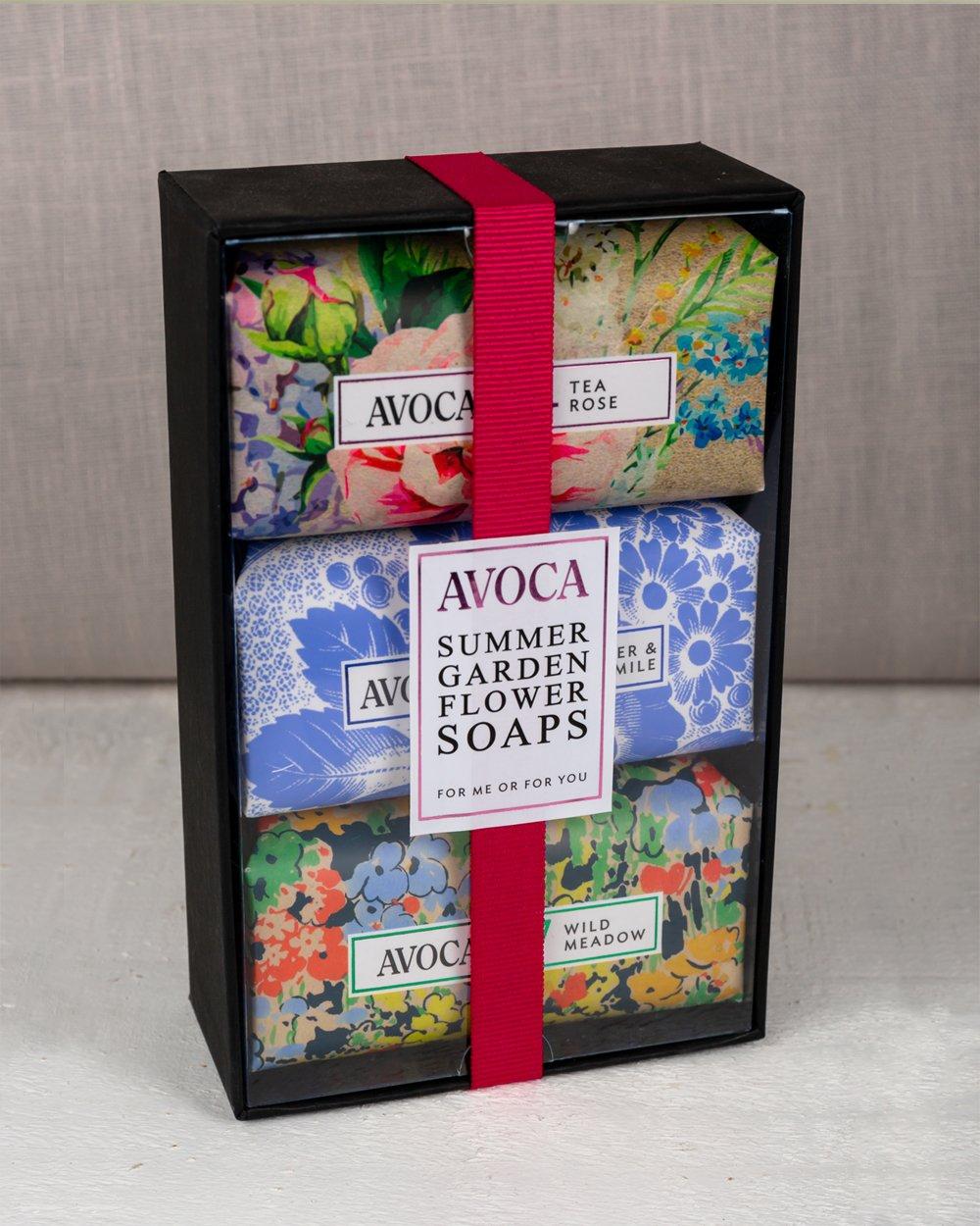 Avoca Soap Gift Set - Garden Flowers