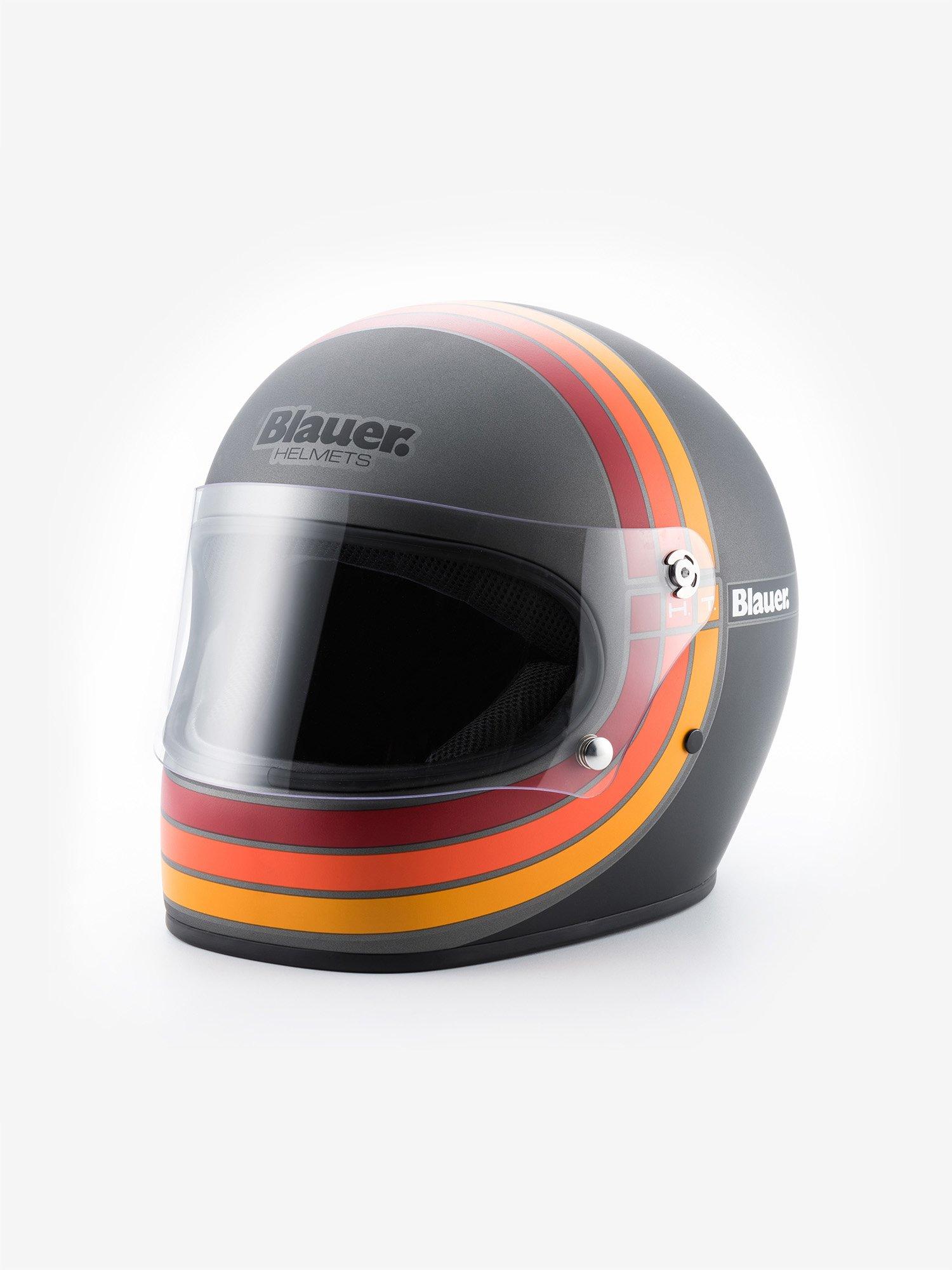 Blauer - 80s ШЛЕМ - Titanium Matt - Blauer