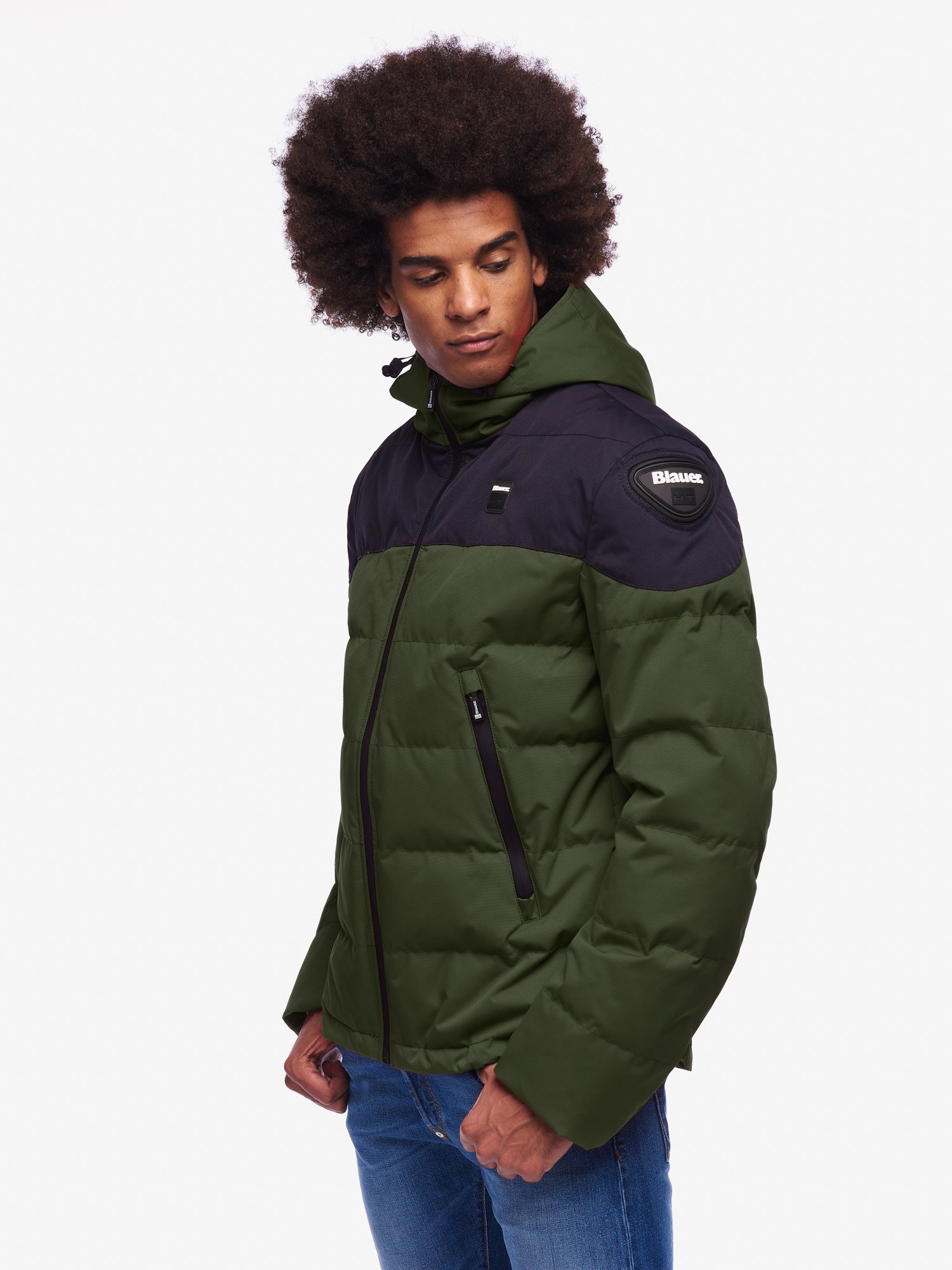 Blauer - EASY WINTER MAN 2.0 - Alga Kombu  Blu - Blauer