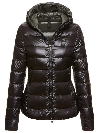 WOMAN'S SHINY NYLON DOWN JACKET