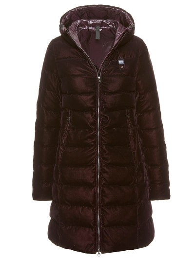 LONG DOWN JACKET WITH HOOD PENELOPE