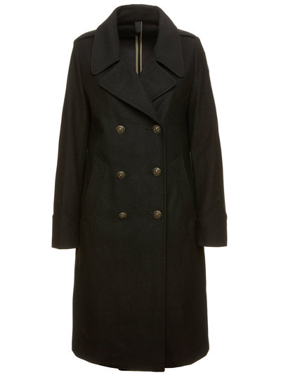 WOMAN DOUBLE-BREASTED COAT