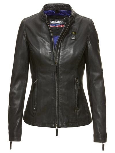 PADDED LEATHER JACKET AVA