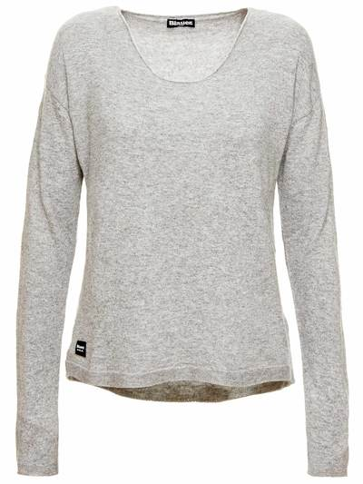AMPLE CREW NECK SWEATER