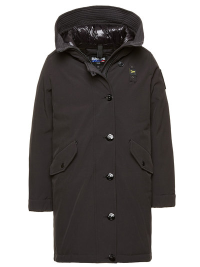GIRL'S PADDED PARKA WITH HOOD