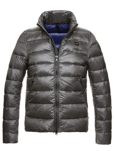 MEN'S DOWN JACKET IN SHINY NYLON  AND GOOSE DOWN GRAYSON