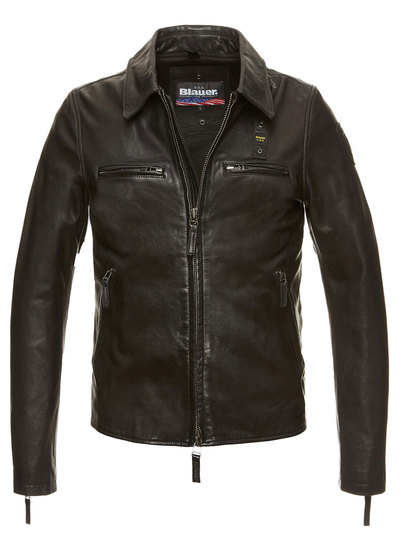 LEATHER JACKET JEAMS