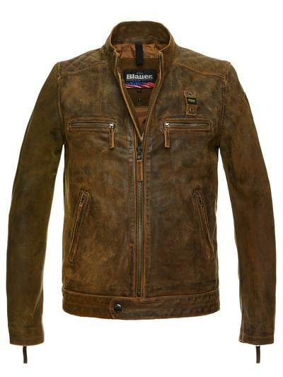 LEATHER WILLIAM JACKET