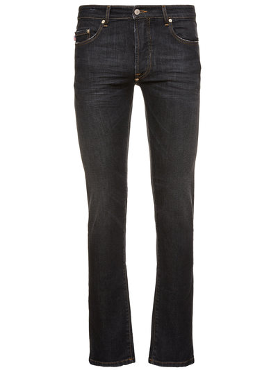 MAN BLACK DENIM JEANS