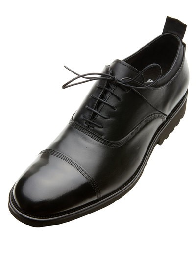 SCARPA OXFORD IN PELLE LUCIDA