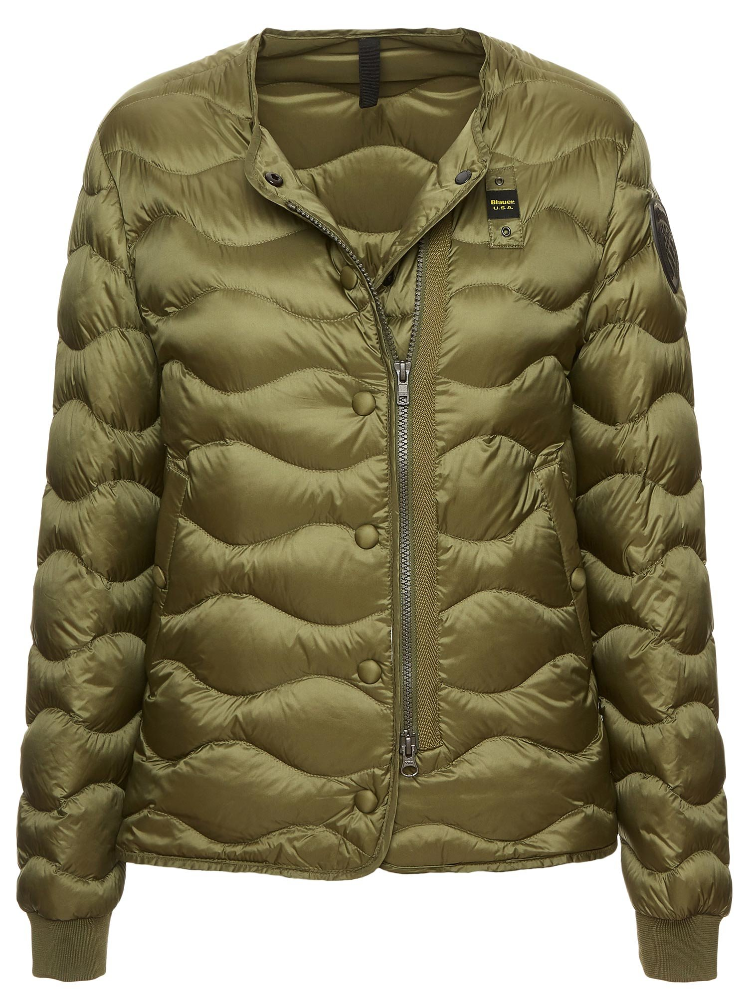 Blauer - VIOLET SHORT LIGHTWEIGHT DOWN JACKET - Alpine Green - Blauer