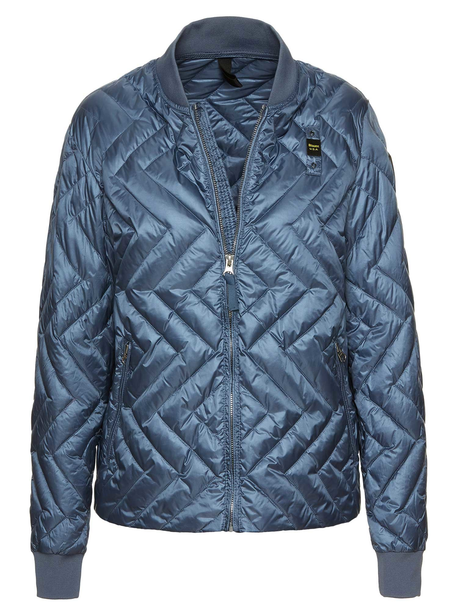 MAYA WOMEN'S ZIG ZAG DOWN JACKET - Blauer