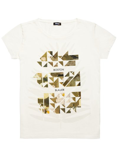 BOSTON BLAUER CAMOUFLAGE T-SHIRT