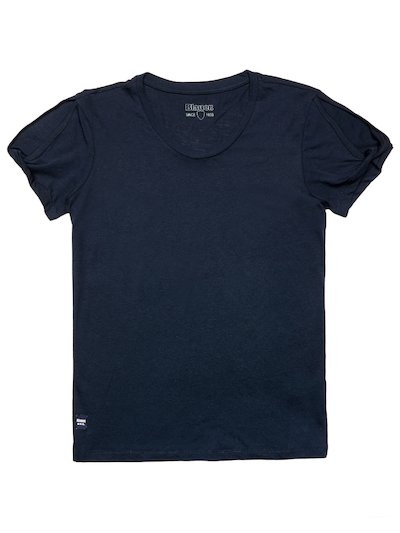 CUT OUT COTTON MODAL T-SHIRT