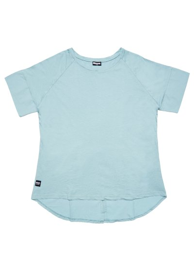 T-SHIRT WITH BACK SLIT