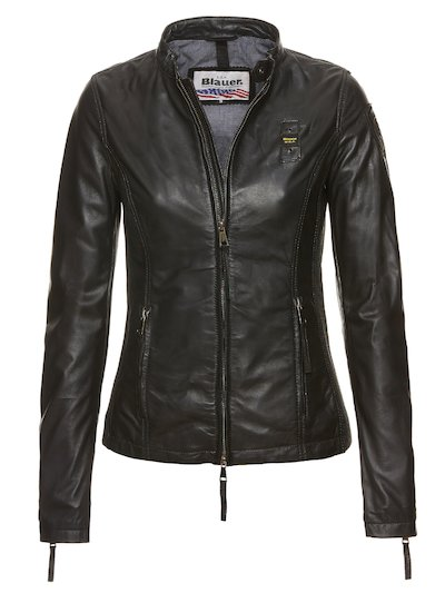 HANNAH URBAN BIKER LEATHER JACKET