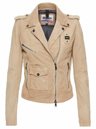 PIPER SUEDE BIKER JACKET