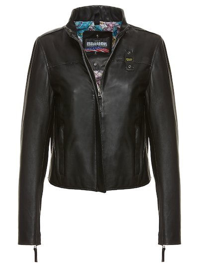 SAMANTHA LEATHER BIKER JACKET
