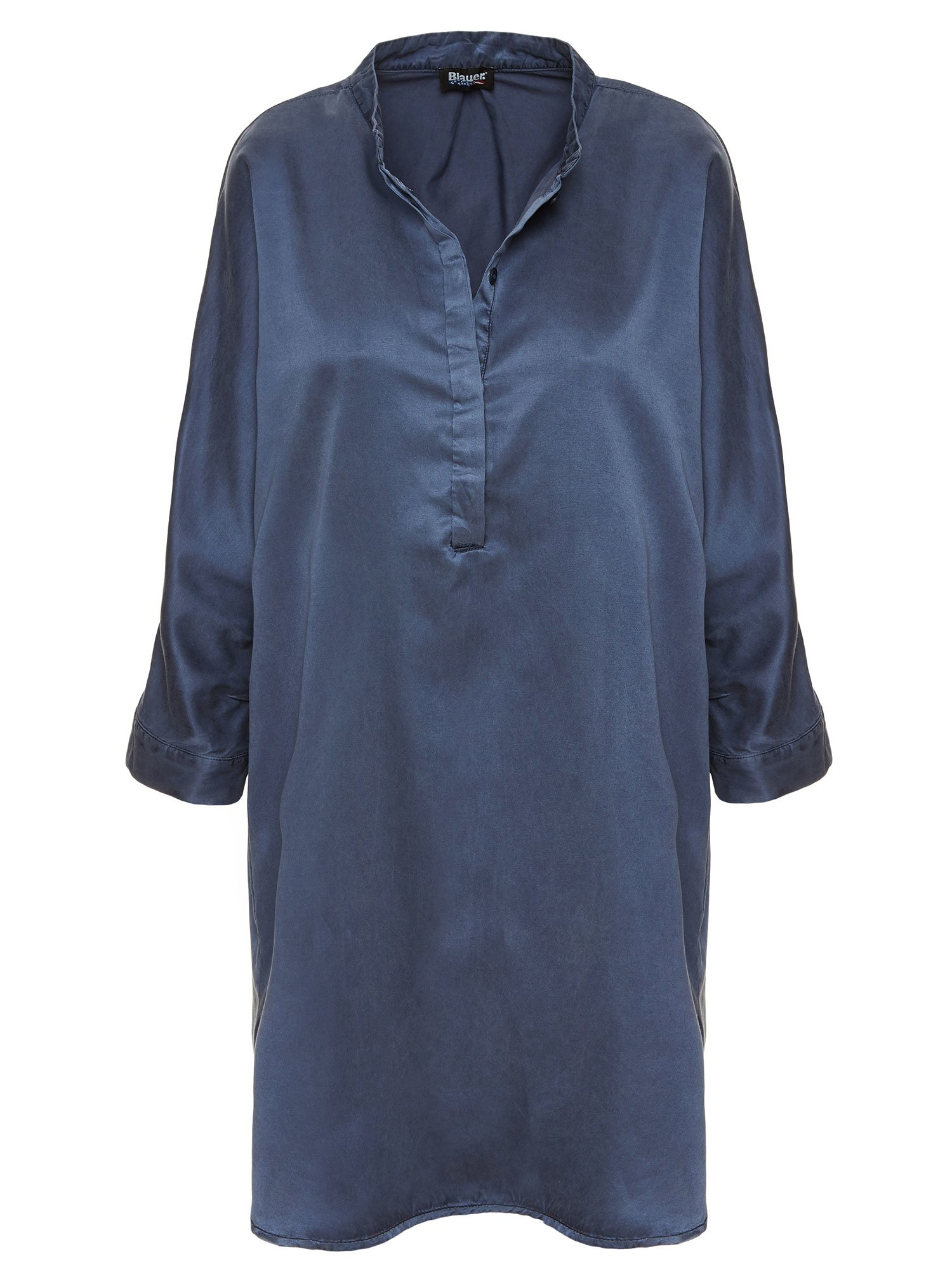 COTTON AND SILK DRESS - Blauer