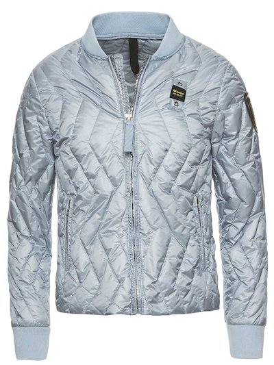 GIRL'S LIGHTWEIGHT ZIG ZAG DOWN JACKET