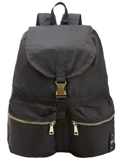 BACKPACK WITH FRONT POCKETS BLAUER__