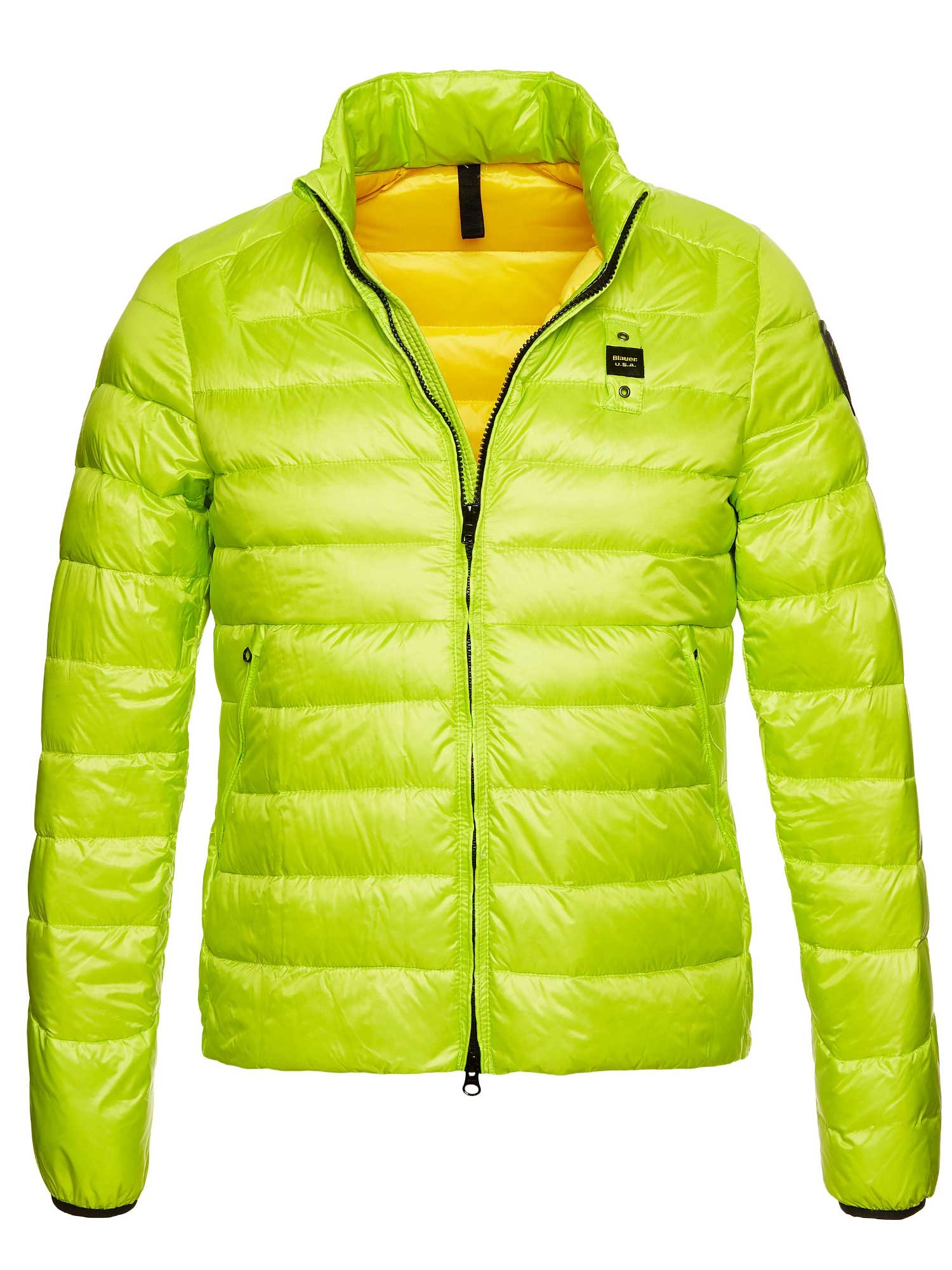 Blauer - JASON ULTRA LIGHTWEIGHT DOWN JACKET - Lime Ins. Yellow - Blauer