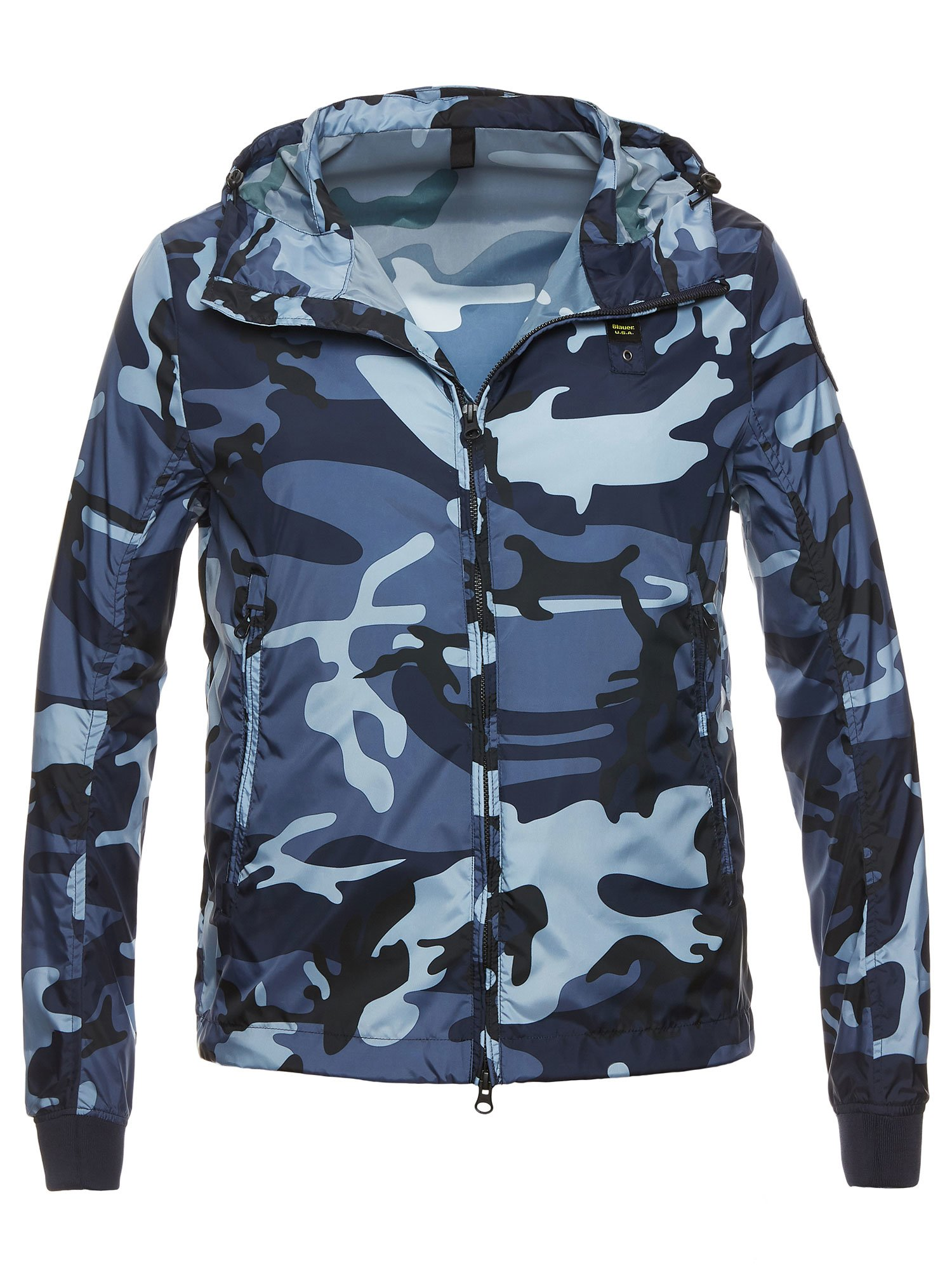 Blauer - CHRIS LIGHTWEIGHT CAMOUFLAGE JACKET - Midnight Blue - Blauer