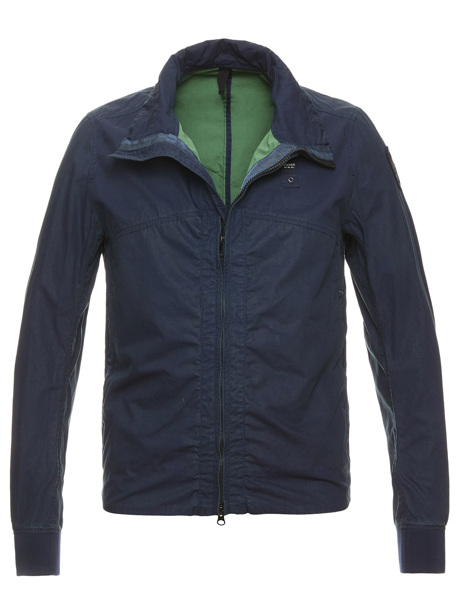 LEVI COTTON POPLIN JACKET - Blauer