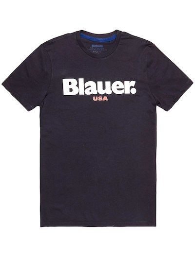 T-SHIRT BLAUER USA__
