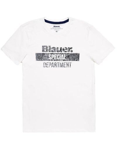 T-SHIRT BLAUER SPECIAL DEPARTMENT__
