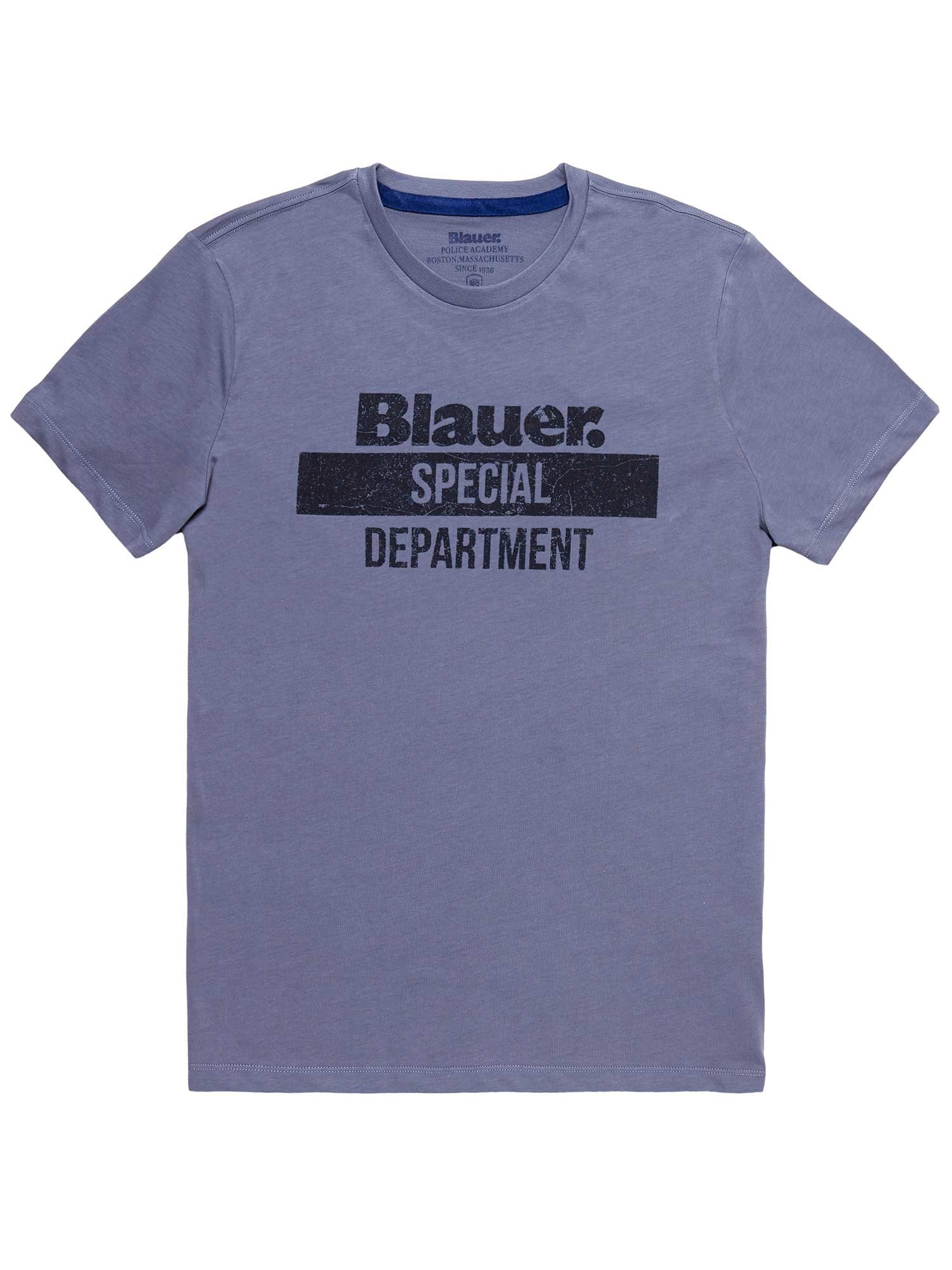 T-SHIRT BLAUER SPECIAL DEPARTMENT - Avio Scuro - Blauer